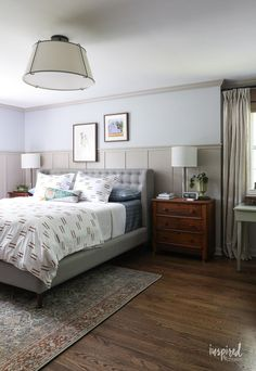 How to Add Vintage Charm to Your Home #vintage #vintagefinds #antiques #homedecor #decor #decorating #charm #vintagecharm Brick Paint Colors, Paint Colors For Home, Modern Country Bedrooms, Modern Bedroom, Bedroom Sets, Bedroom Decor, Master Bedroom Makeover, Room Paint, Beautiful Bedrooms