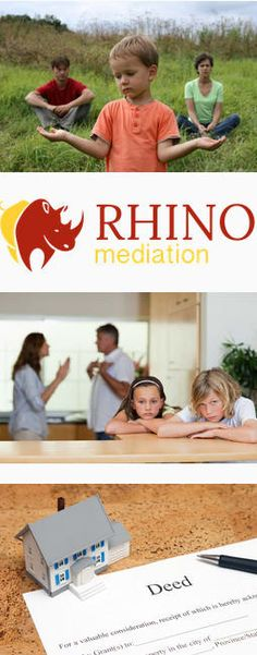 Rhino mediation can work with couple of finding solutions to issues around children. Contact to find out more about mediation.