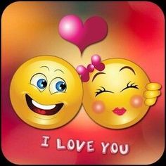 Love you hubby Animated Emoticons, Funny Emoticons, Kiss Emoji, Smiley Emoji, Love You Hubby, I Love You, Stickers Emojis, Emojis Meanings, Pallet Picture Frames