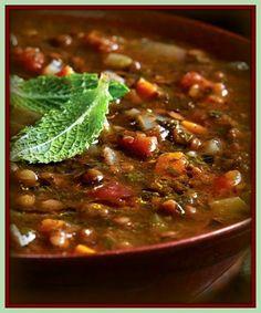 Sopa persa de lentilha | RECEITASDMAIS.com                              …