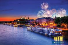I vote this THE best place to view fireworks! #AmaSTN #rivercruise #luxurytravel #europetravel #anniversarytrips