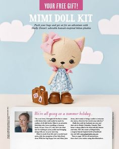 Gingermelon Dolls: A Special Mollie Makes Feature!!