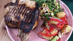 Spring grilling recipes: Pork chops & grilled potato salad - TODAY.com