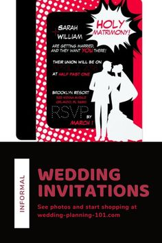 Are you looking for fun and informal wedding invitations? Get ideas and see photos today! #informalWeddingInvitations #InformalWeddingStationery #CasualWeddingInvitaions #ModernWeddingInvitations #FunWeddingInvitations