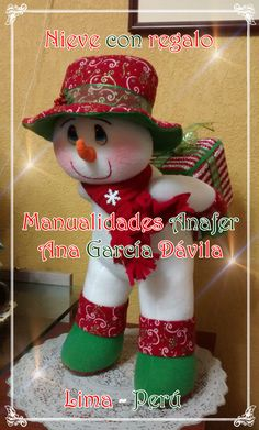 Barbie, Elf On The Shelf, Snowman, Christmas Crafts, Stickers, Sewing, Holiday Decor, Brunette Girl, Christmas Decor