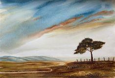 """""""Solitude II"""" - Original Fine Art for Sale - © Jean Lurssen"""
