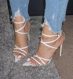 Image may contain: shoes Beautiful High Heels, Gorgeous Feet, Hot High Heels, Womens High Heels, Stilettos, Cute Heels, Shoes Heels, Sexy Toes, Sneaker Heels