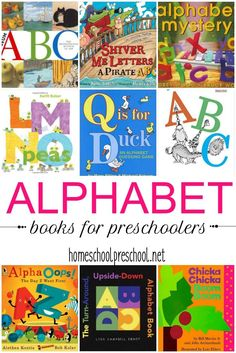 You can't teach the early years without an amazing collection of alphabet books for kids. Here are 50 of our favorites to get you started! via @homeschlprek