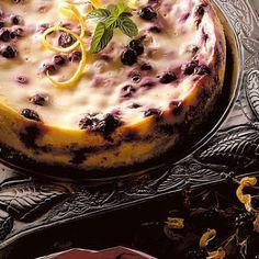 Blueberry Cream Cake