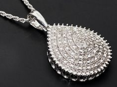 Add some sparkle to your wardrobe with this #diamond #pendant and slider #chain