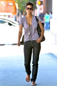 Image result for halle berry styling