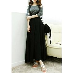 Solid Color Casual Style Cotton Blend Women's Suspender Boho Skirt
