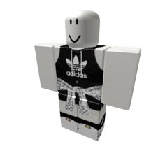 Customize your avatar with the 🌸 Hooded Tank Adidas w/ Flannel 🌸 and millions of other items. Mix & match this pants with other items to create an avatar that is unique to you! Games Roblox, Roblox Roblox, Roblox Codes, Play Roblox, Black Hair Roblox, Roblox Online, Camisa Nike, Roblox Gifts, Roblox Animation