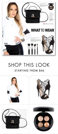 """""""AMICLUBWEAR 12/III"""" by amra-mak ❤ liked on Polyvore featuring MM6 Maison Margiela and MAC Cosmetics"""