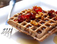 Buckwheat-Brown-Rice Waffles, Gluten-Free   One Green Planet