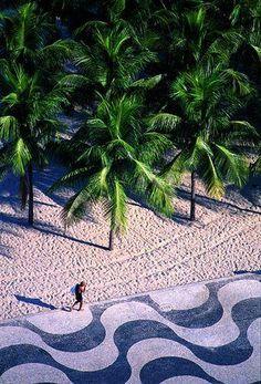 Copacabana, the world's most famous beach ll Brazil ll On my way soon..