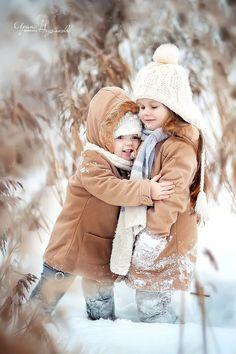 Untitled by Irina Nedyalkova on Snow Photography, Children Photography, Winter Family Photography, Winter Kids, Baby Winter, Cute Kids, Cute Babies, Winter Family Photos, Bless The Child