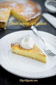 Moje Wypieki | Tarta cytrynowa - Lemon tart