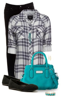 Today's Look by missdoolittle on Polyvore featuring polyvore, fashion, style, Rails, Paige Denim, Qupid, Marc by Marc Jacobs, Natalie B and Charter Club