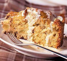 Pear, hazelnut & chocolate cake recipe - BBC Good Food Ultimate Chocolate Cake, Chocolate Brownie Cake, Pear Recipes, Cake Recipes, Sweet Recipes, Drizzle Cake, Cake Mixture, Bbc Good Food Recipes, Round Cakes