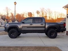 Lifted Tacoma, Toyota Tacoma Trd Sport, Tacoma Truck, Toyota 4x4, Toyota Trucks, Tacoma World, Taco Time, What Have You Done, Offroad