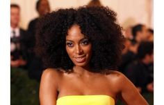 My Kinky Hair obsession has hit a new high. I need this hair in my life NOW! Solange Knowles was hair to toe perfection at the 2012 MET Ga. Messy Curly Hair, Big Hair, Wavy Hair, Curly Hair Styles, Natural Hair Inspiration, Natural Hair Tips, Natural Curls, Natural Hair Styles, Solange Knowles