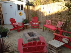 Check out this backyard '' beach oasis,'' complete with tiki ... on