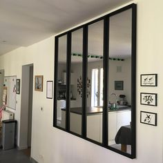 Miroirs Ikea effet verrière installés 😍😍 #ikeahack