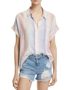 138.00$  Buy now - http://vikbd.justgood.pw/vig/item.php?t=yajw74p53641 - Rails Whitney Stripe Button-Down Shirt 138.00$