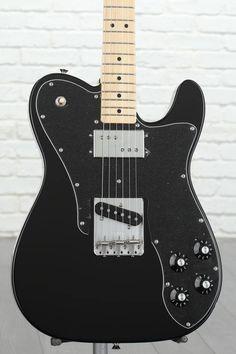 Fender Classic Telecaster Custom Electric Guitar for sale online Electric Guitar For Sale, Custom Electric Guitars, Custom Guitars, Fender Telecaster Black, Telecaster Custom, Gibson Guitars, Fender Guitars, Acoustic Guitars, Guitar Amp