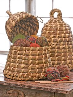 Bee Skep Basket - Ha