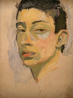 Serge Gainsbourg, Autoportrait, 1957                                                                                                                                                                                 Plus