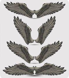 Trendy Tattoo Back Eagle Angel Wings Ideas Eagle Wing Tattoos, Wing Tattoo Men, Wing Tattoo Designs, Small Eagle Tattoo, Tribal Arm Tattoos, Celtic Tattoos, Tattoo Women, Chest Tattoo, Back Tattoo