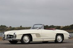1960's Mercedes-Benz 300sl roadster