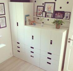 Stuva ikea // alternative for kitchen worktop with more storage space - k i t . Ikea Kids, Ikea Children, Girl Room, Girls Bedroom, Ikea Trofast, Toddler Rooms, Kids Room Design, Ikea Furniture, Kid Spaces