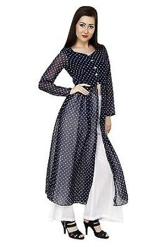 31905407a4b Kurti Ethnic Women Top Indian Bollywood Casual Dress Designer Tunic Ladies  Tunic