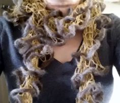 Handmade in the USA Color: Brown Dimensions: Length: Width: Made using the finest Merino Wool and Silk blend Scarf Sale, Indie Brands, Merino Wool, Buy And Sell, Dreadlocks, Silk, Usa, Knitting, Hair Styles