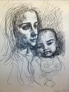 Antonio Berni Mother And Child, Faces, Portrait, Drawings, Inspiration, Argentina Map, Paintings, Artists, Art