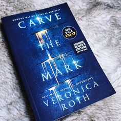 Keen to get my essay done so I can finish reading Carve The Mark by Veronica Roth it's pretty good so far! Comes out in a few days
