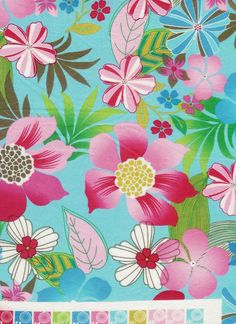 Pink and Turquoise Hawaiian Flowers Bedding www.SurferBedding.com~ Hawaiian and Surfer Inspired Bedding Products!