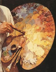 """If you are looking for a post on """"how to oil paint on canvas"""",here is a detailed lesson with video to make you understand the whole process of oil painting. As a beginner, you may be confused about using the oil painting supplies and how to paint on canvas. Oil Painting Brushes and Instructions Now, [...]:"""