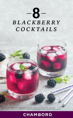 Choose your recipe. Whichever you like. Find your ingredients. Pour into a glass. And voila, now you've got a delicious drink to sip on this summer! Check out this collection of 8 Blackberry Cocktails to discover a variety of different Chambord® combinations to enjoy with your girlfriends at every get-together, party, and girls' trip.