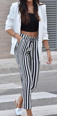 Trousers + blazer