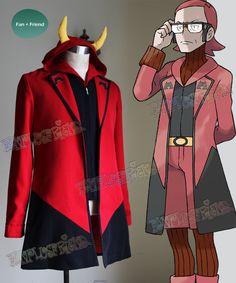 fanplusfriend - Pokemon ORAS Cosplay Magma Leader Maxie Costume Jacket & Vest, $200 (http://www.fanplusfriend.com/pokemon-oras-cosplay-magma-leader-maxie-costume-jacket-vest/)