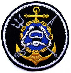 Chevron special unit of combat swimmers Black Sea Fleet of the Russian Navy