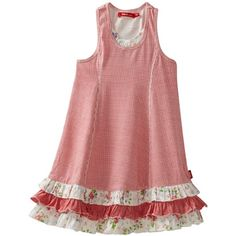 Oilily Girls 2-6x Tasja Checked Jersey Dress $99.90
