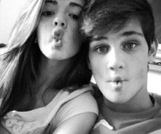 """""""Let's take a selfie"""" she said. """"Let's do a fish face!"""" """"Why?"""" """"Because it will be easier for me to kiss you that way after this picture."""" He said"""