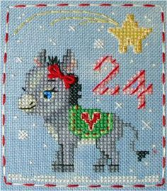 Looking for your next project? You're going to love  BBP Advent Animal #24 Deborah Donkey by designer Brooke Nolan.
