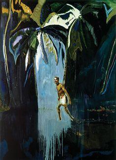 Pelican (Stag) 2003 - Peter Doig (British, b. 1959) Magic Realism