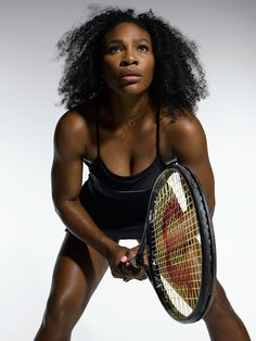 There was a time when sports was considered a man's world—but that's ancient history now..  Serena Williams is synonymous with winning !